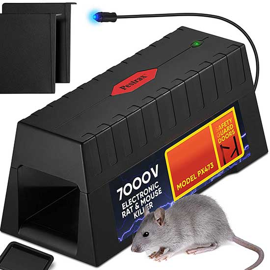 Electronic Rodent Rat Shock Trap