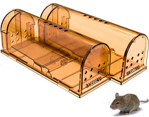 captsure original humane live vole trap