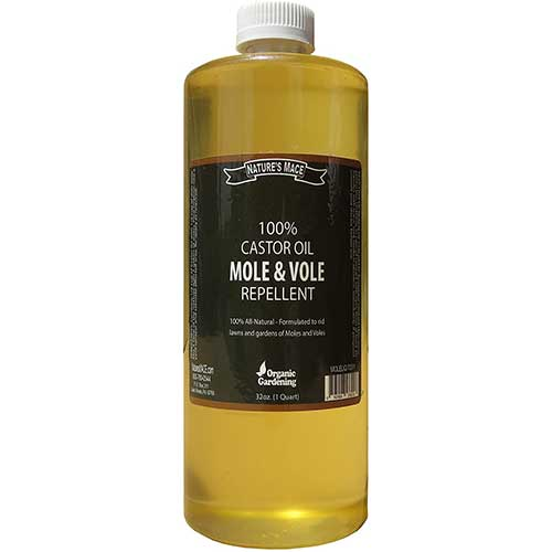 natures mace mole and vole castor oil repellent