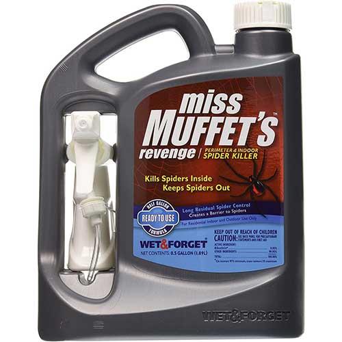 miss muffets revenge spider killer for wolf spiders
