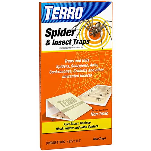 terro wolf spider and insect traps