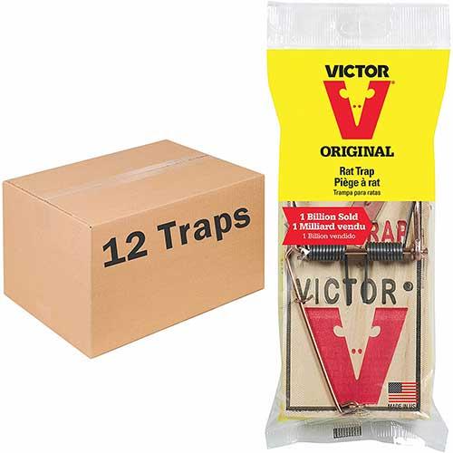 victor snap rat trap victor original