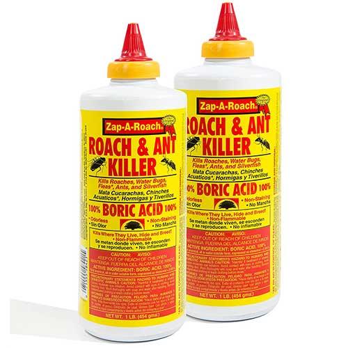zap-a-roach boric acid to kill spiders