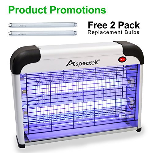 Aspectek 20W Electronic Indoor Bug Zapper