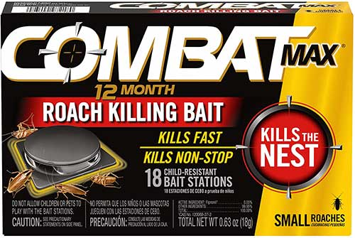 COMBAT Max Roach Killing Bait Stations