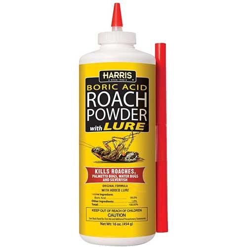 harris boric acid cockroach killer powder