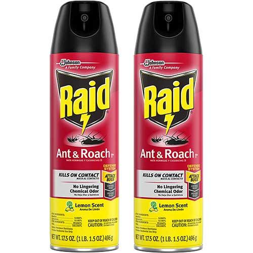 raid ant and cockroach spray