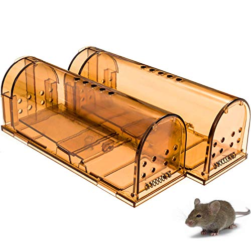 CaptSure 2019 Upgraded Humane Smart Vole Trap