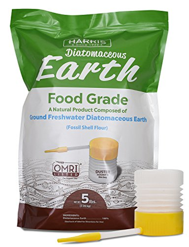 Go Organic with the Diatomaceous Earth Treatment