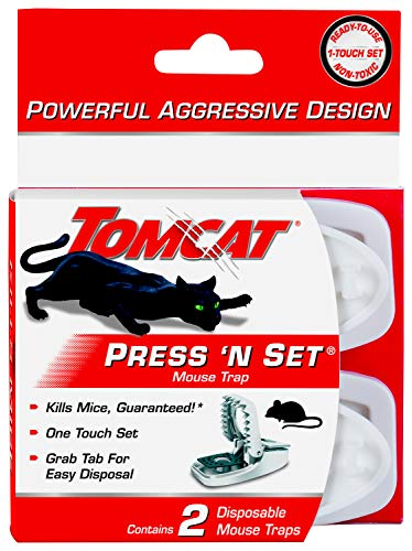 Tomcat Press and Set Mouse Traps