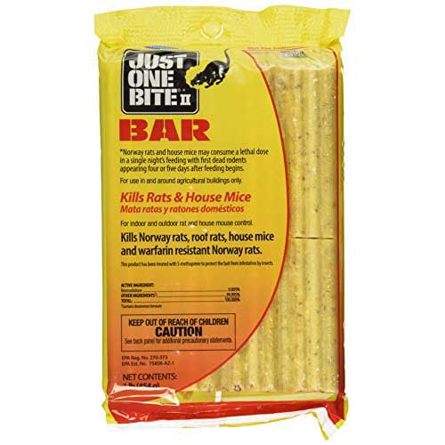 Just one Bite Rat Poison Bar