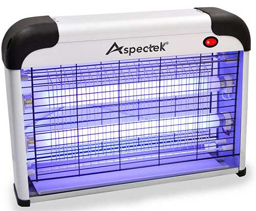 aspectek electronic bug zapper for fly moth and mosquito