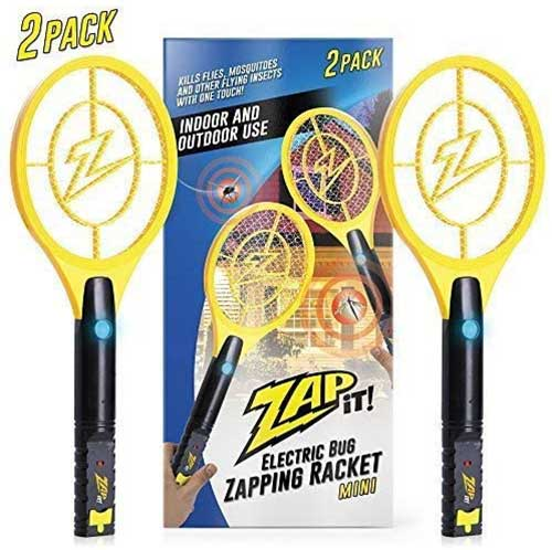 zap it racket style bug zapper