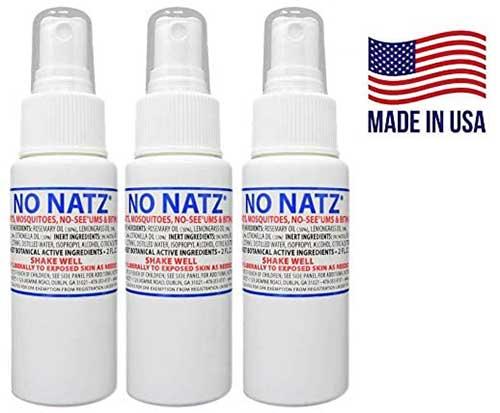No Natz no see um mosquito and gnat deet free natural bug spray