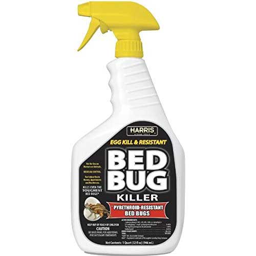 harris black label bed bug killer liquid spray
