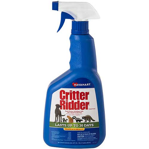 havahart critter ridder cat repellent spray