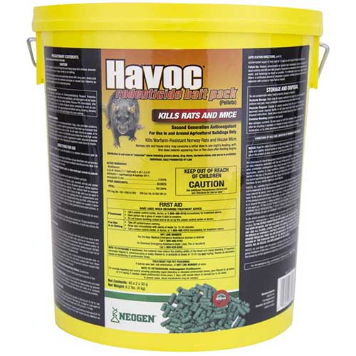 havoc rat posion pellet form
