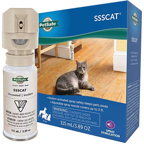 petsafe cat deterrent spray