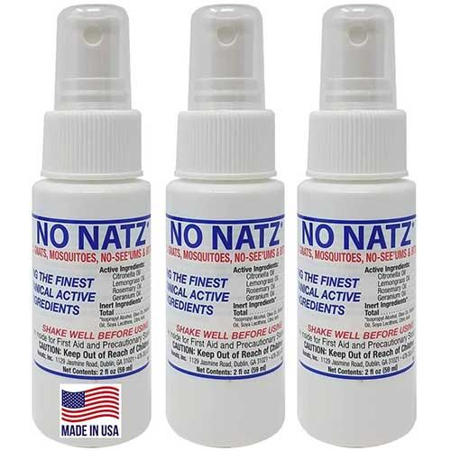no natz deet free insect repellant